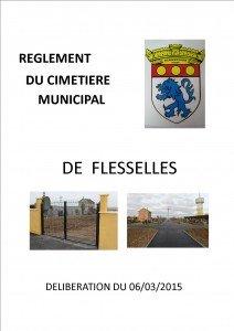 REGLEMENT DU CIMETIERE DE FLESSELLES