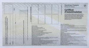 carte grise